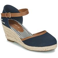 Pantofi Femei Sandale  Tom Tailor ESKIM Albastru