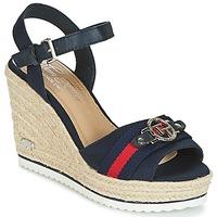 Pantofi Femei Sandale  Tom Tailor CRYSTYA Albastru