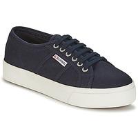 Pantofi Femei Pantofi sport Casual Superga 2730 COTU Bleumarin / Alb