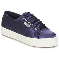 Pantofi Femei Pantofi sport Casual Superga 2730 SATIN W Bleumarin
