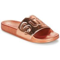 Pantofi Femei Papuci de vară Superga 1908 PUNE TU Roz / Gold
