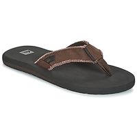 Pantofi Bărbați  Flip-Flops Quiksilver MONKEY ABYSS M SNDL CTK0 Negru / Maro