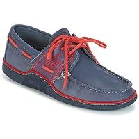 Pantofi Bărbați Pantofi barcă TBS GLOBEK Albastru / Roșu