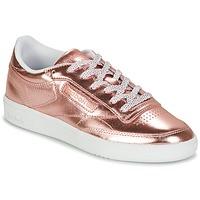 Încăltăminte Femei Pantofi sport Casual Reebok Classic CLUB C 85 S SHINE Roz / Metal