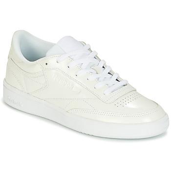Încăltăminte Femei Pantofi sport Casual Reebok Classic CLUB C 85 PATENT Alb