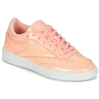Încăltăminte Femei Pantofi sport Casual Reebok Classic CLUB C 85 PATENT Roz