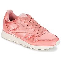 Încăltăminte Femei Pantofi sport Casual Reebok Classic CLASSIC LEATHER SATIN Roz