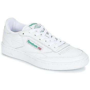 Încăltăminte Pantofi sport Casual Reebok Classic CLUB C 85 Alb / Verde