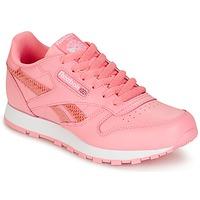 Pantofi Fete Pantofi sport Casual Reebok Classic CLASSIC LEATHER SPRING Roz