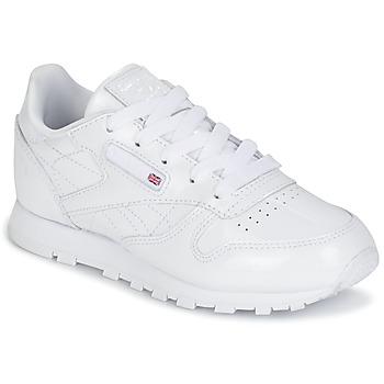 Încăltăminte Fete Pantofi sport Casual Reebok Classic CLASSIC LEATHER PATENT Alb
