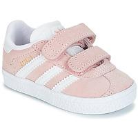 Încăltăminte Fete Pantofi sport Casual adidas Originals GAZELLE CF I Roz