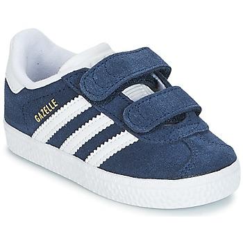 Încăltăminte Băieți Pantofi sport Casual adidas Originals GAZELLE CF I Bleumarin