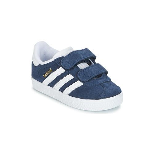Pantofi Copii Pantofi sport Casual adidas Originals GAZELLE CF I Albastru