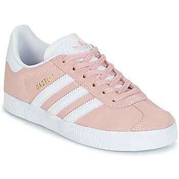 Încăltăminte Fete Pantofi sport Casual adidas Originals GAZELLE C Roz