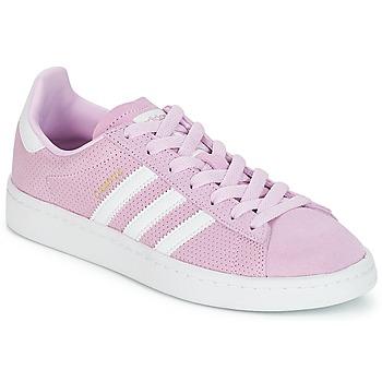 Încăltăminte Fete Pantofi sport Casual adidas Originals CAMPUS J Roz