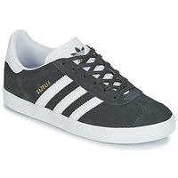 Încăltăminte Copii Pantofi sport Casual adidas Originals GAZELLE J Gri
