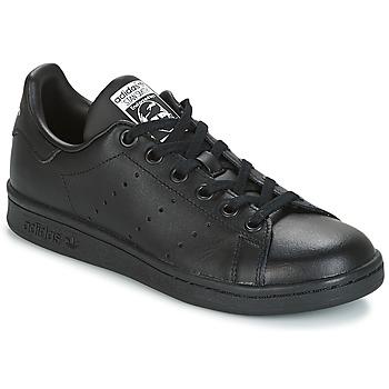 Pantofi Copii Pantofi sport Casual adidas Originals STAN SMITH J Negru