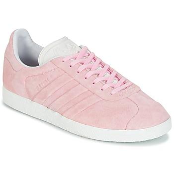 Încăltăminte Femei Pantofi sport Casual adidas Originals GAZELLE STITCH Roz