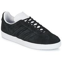Încăltăminte Pantofi sport Casual adidas Originals GAZELLE STITCH AND Negru