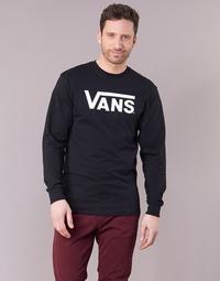 Îmbracaminte Bărbați Tricouri cu mânecă lungă  Vans VANS CLASSIC Negru
