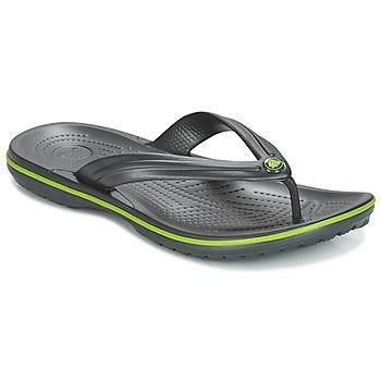 Pantofi  Flip-Flops Crocs CROCBAND FLIP Negru / Verde