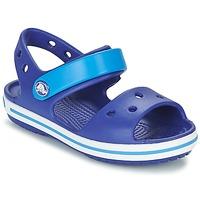 Pantofi Băieți Sandale și Sandale cu talpă  joasă Crocs CROCBAND SANDAL KIDS Albastru
