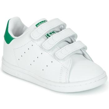 Încăltăminte Copii Pantofi sport Casual adidas Originals STAN SMITH CF I Alb / Verde