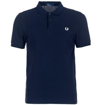 Îmbracaminte Bărbați Tricou Polo mânecă scurtă Fred Perry THE FRED PERRY SHIRT Albastru