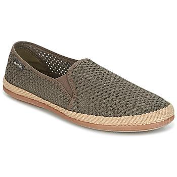 Pantofi Bărbați Espadrile Bamba By Victoria COPETE ELASTICO REJILLA TRENZA Taupe