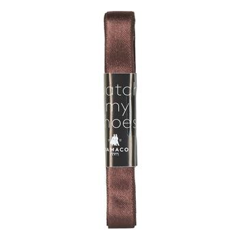 Accesorii  Șireturi Famaco LACET SATIN Maro / Culoare închisă