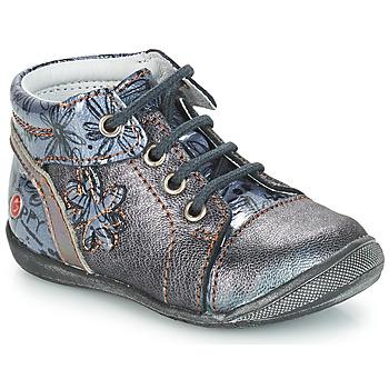 Pantofi Fete Ghete GBB ROSEMARIE Gri / Albastru