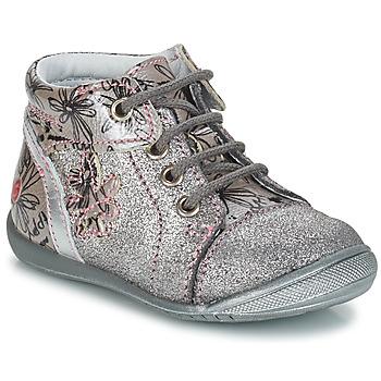 Pantofi Fete Ghete GBB ROSEMARIE Argintiu