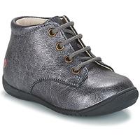 Pantofi Fete Ghete GBB NAOMI Argintiu