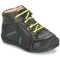 Pantofi Băieți Ghete GBB RACINE Gri / Negru