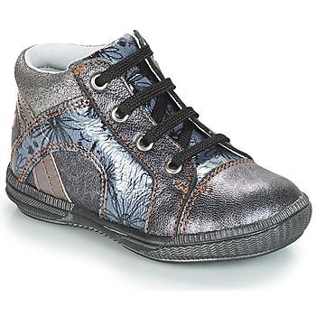 Încăltăminte Fete Pantofi sport stil gheata GBB ROSETTA Argintiu / Albastru