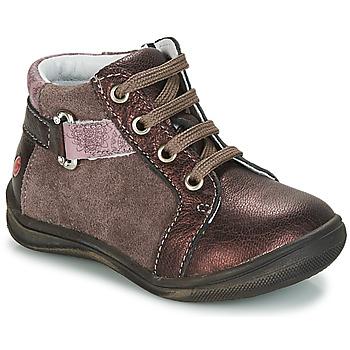 Pantofi Fete Ghete GBB RICHARDINE Maro / Bronz