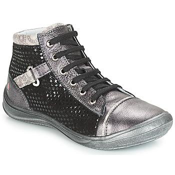 Pantofi Fete Pantofi sport stil gheata GBB ROMIE Gri / Negru