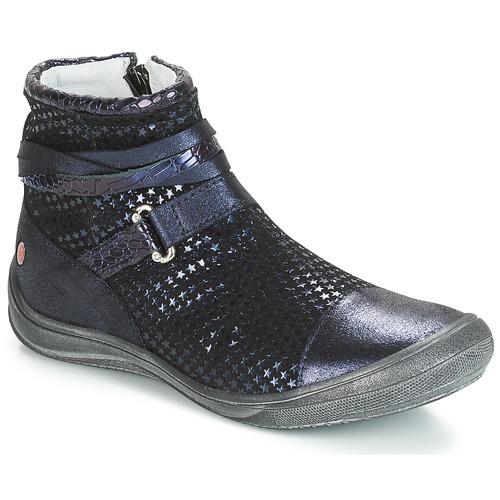 Pantofi Fete Ghete GBB ROCHELLE Albastru