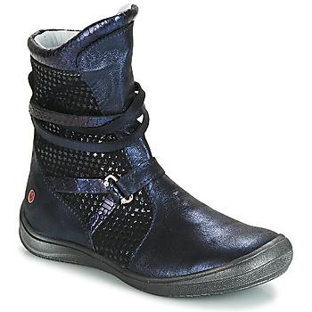 Pantofi Fete Cizme casual GBB ROSANA Albastru / Negru