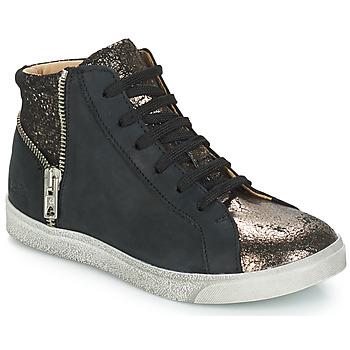 Pantofi Fete Pantofi sport stil gheata GBB CARLA Negru / Bronz