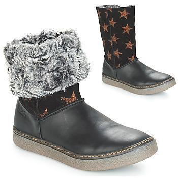 Pantofi Fete Cizme casual Achile DUBROVNIK Negru