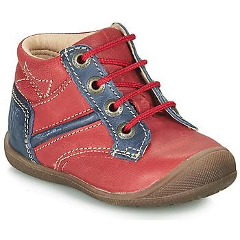 Pantofi Băieți Ghete Catimini RATON Roșu / Bleumarin