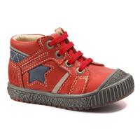 Pantofi Băieți Ghete Catimini RENARD Vte /  roȘu-bleumarin / Dpf / Linux