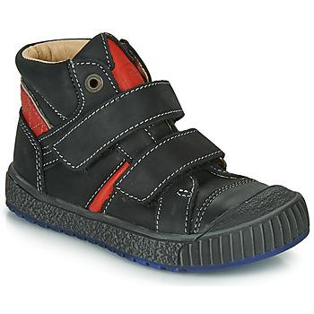 Pantofi Băieți Pantofi sport stil gheata Catimini RAIFORT Negru / Roșu
