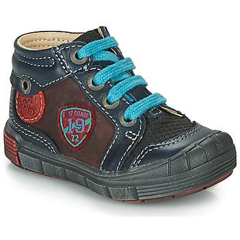 Pantofi Băieți Pantofi sport stil gheata Catimini ROCOU Albastru / Bordo