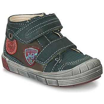 Pantofi Băieți Pantofi sport stil gheata Catimini ROMARIN Albastru / Maro
