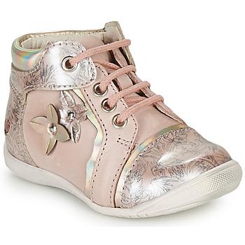 Pantofi Fete Ghete GBB SONIA Vtv /  roz-imprimeuri / Dpf / Kezia
