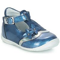 Pantofi Fete Balerin și Balerini cu curea GBB SELVINA Albastru