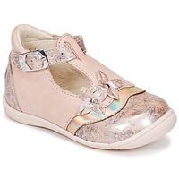 Pantofi Fete Balerin și Balerini cu curea GBB SELVINA Roz