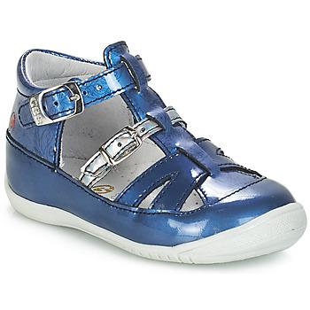 Încăltăminte Fete Sandale și Sandale cu talpă  joasă GBB SARAH Albastru-imprimat / Dpf / Kezia